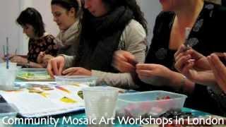 Mosaic Art & Craft Workshops In London