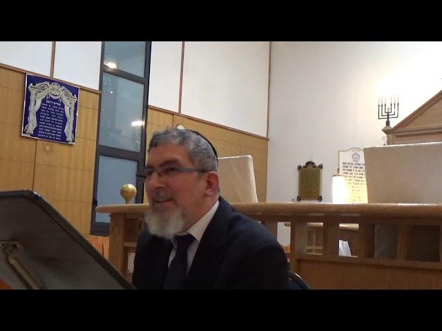 Shabbat haGadol, cours du mardi soir