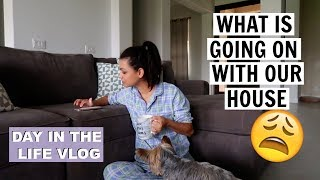 WHAT IS GOING ON WITH OUR HOUSE ???  \\ SAHM MOM VLOG 2018 \\ Style Mom XO