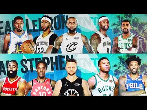 LeBron James and Stephen Curry Reveal 2018 NBA All-Star Game Roster & Teammates They Selected!