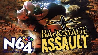 WCW Backstage Assault - Nintendo 64 Review - HD