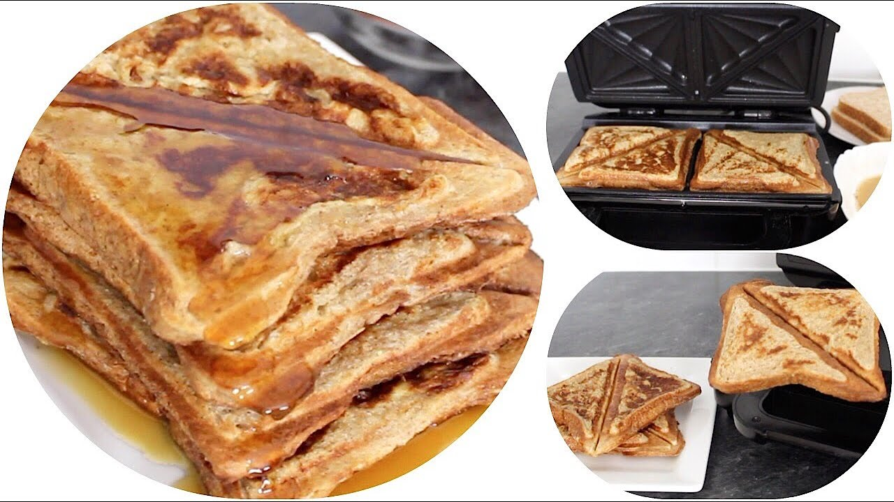 How to Make French Toast in a Toaster • Quick and Easy Recipe