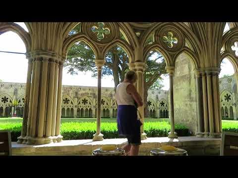 Cream Tea Salisbury CathedralEngland UK クリームティー値段 ソールズベリー大聖堂 イギリス一周