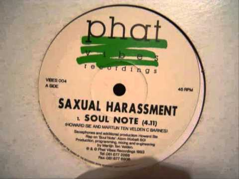 Saxual Harassment - Soul Note EP - (1993)