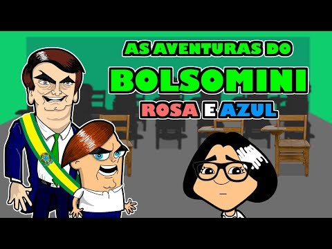 As aventuras do bolsomini Ep 2 - Rosa é Azul 1