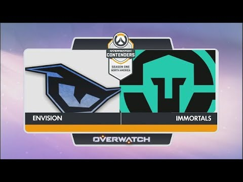 Envision vs Immortals (Part 1) | OW Contenders Season One: North America