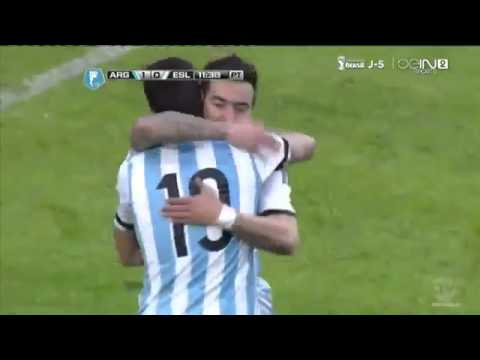 Argentina vs Slovenia 2 0 All Goals & Highlights 07 06 2014 HD 2