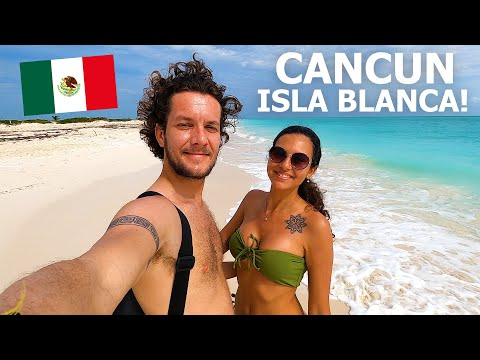 BEST PLACE IN CANCUN! 🇲🇽 ISLA BLANCA 2021 (MEXICO TRAVEL)