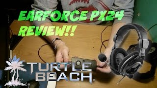 turtle beach ear force px24 review mic test