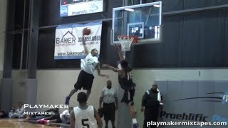 6 7 sf shaun kirk posterizes and shuts down the gym at nc phenom 150 camp