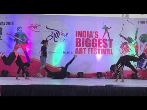 Bgirl Power india | Mandal of MAHILA || Thane Art Festival 2016 | Guest showcase