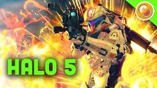 HUNGER GAMES! | Halo 5 Custom Game Shenanigans