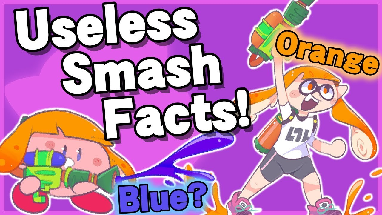 Useless Smash Facts! #3 - Super Smash Bros  Ultimate thumbnail