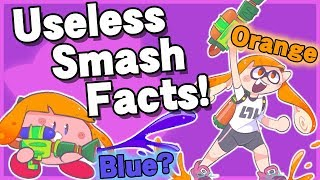 Useless Smash Facts! #3 - Super Smash Bros. Ultimate