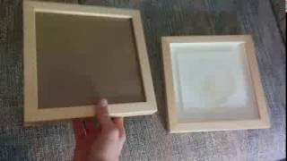 How To Turn a Frame into a Shadow Box (concise)