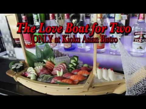 The Love Boat for Two at Kioku Asian Bistro