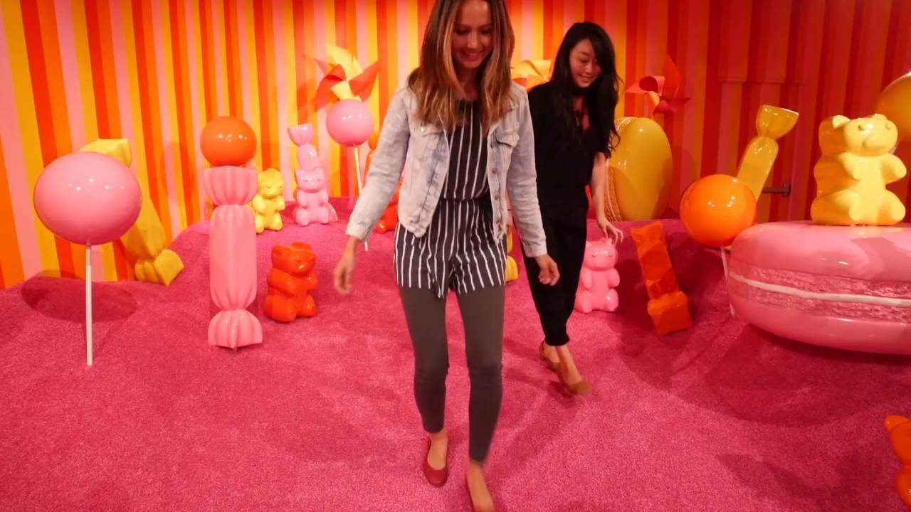 Tour Of The Museum Of Ice Cream In Sf Youtube