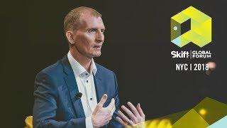 Visit Dallas President and CEO Phillip Jones at Skift Global Forum 2018