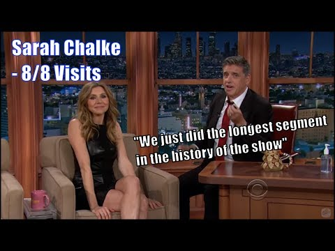 Sarah Chalke - Laughs & Dances Without Holding Back - 8/8 Visits In Chrono.Order [Mostly Great Q]
