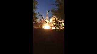 ШОК!!!Запуск ракеты вблизи,Оператор сгорел Заживо!