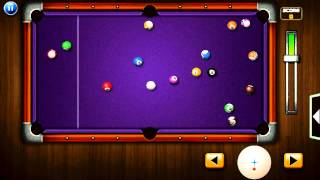 Pocket Pool Pro (by Ezjoy) - sports game for android and iOS - gameplay.
