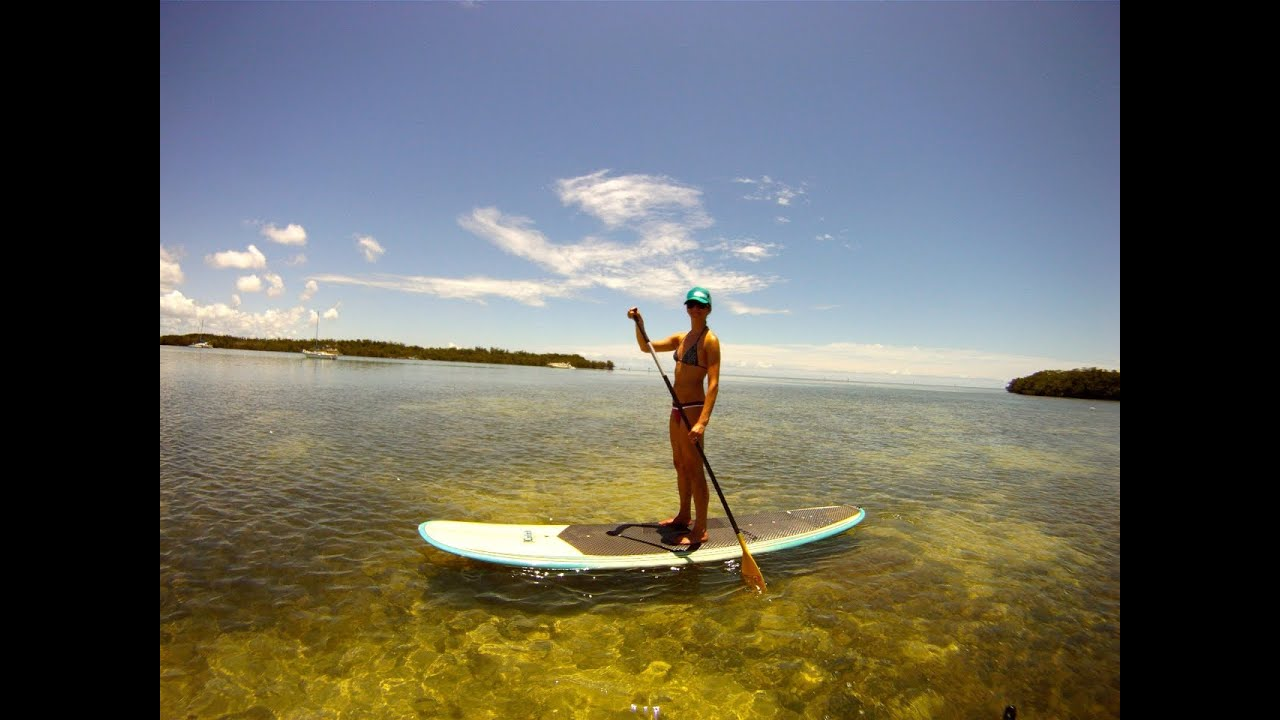 Florida keys stand up paddleboarding sup youtube for Out of state fishing license florida