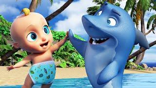 Bébé Requin - Chansons à gestes pour bébé | BB LouLou