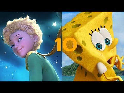 Топ 10 самые лучшие мультики 2000 - 2014 (3D) графика 3
