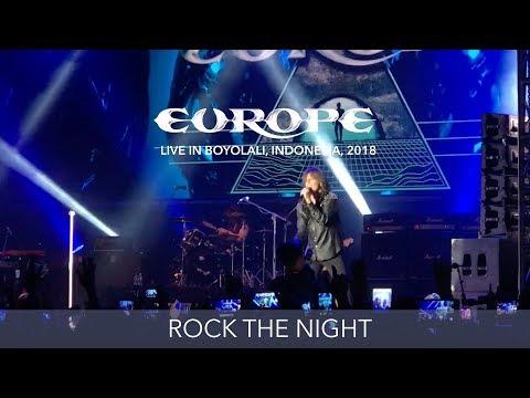 Europe - Rock the Night - Live in Boyolali, Indonesia 2018