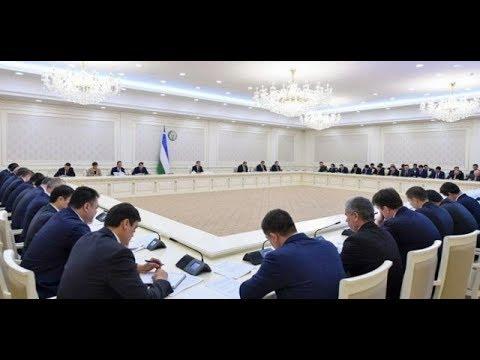 Prezident Shavkat Mirziyoyev raisligida 2019-yil 6-fevral kuni videoselektor yigʻilishi boʻlib oʻtdi