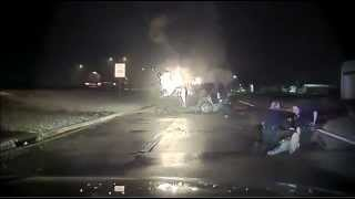 Mesquite Police Rescue Man From Burning Suv