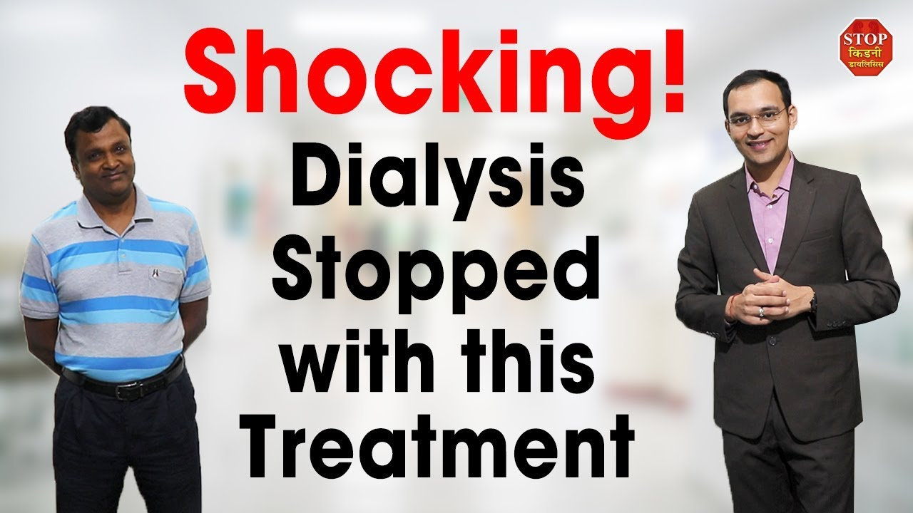 Kidney Treatment In Mumbai Kidney Treatment Without Dialysis In India Youtube