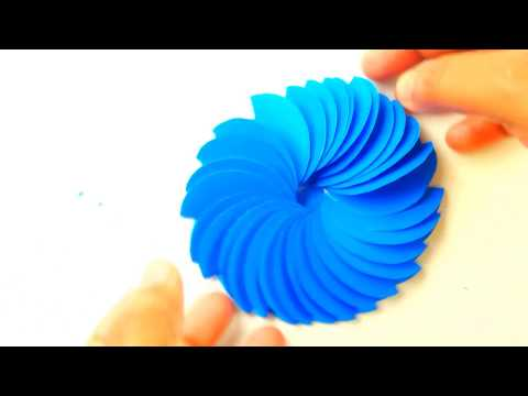 How To Make A Flower With Paper | Paper Flower Wall Decorations | DIY Paper Flowers Tutorial | CRAFT