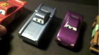 Disney/pixar Cars 2 London Figure Eight Wooden Track Set