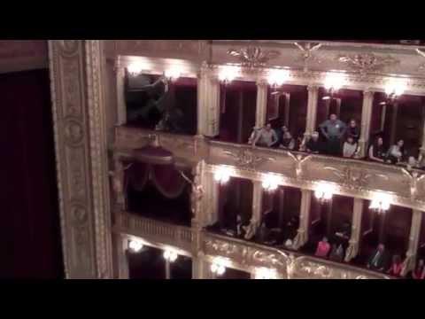 Czech Theater Inside-Národní Divadlo-National Theatre-Prague
