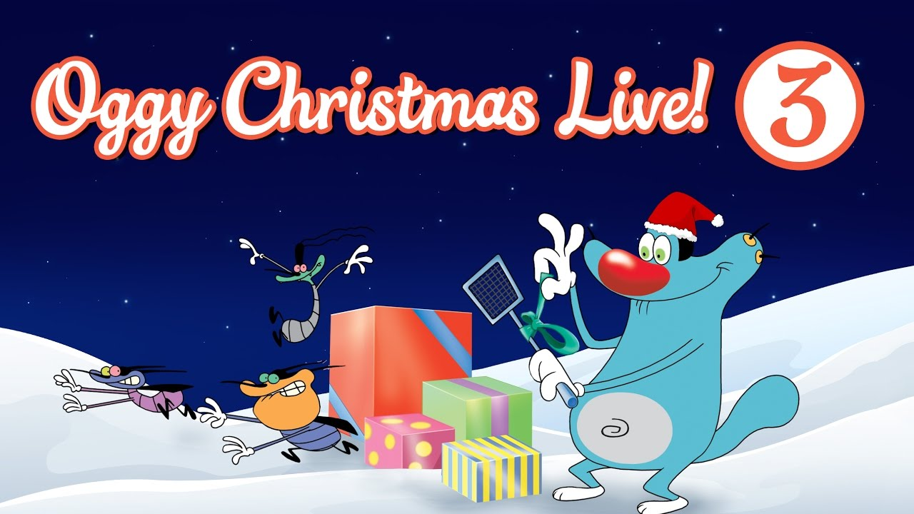 Oggy and the Cockroaches - Live Christmas Compilation #Part 3