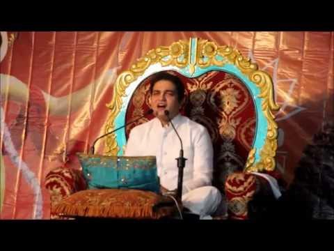 Day 1 Lal Govind Prabhu Bhagwat Katha Mauritius Mon 27 June 2016 Rukmini Krsna Vivah