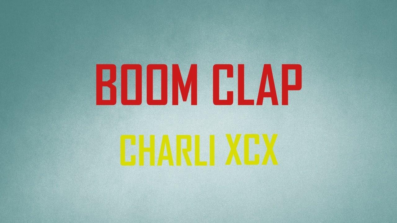 Boom Clap (Charli XCX) - Marzio Guitar Cover (Instrumental & Lyrics) - YouTube