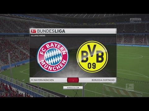 FIFA 16 Bundesliga Prognose | FC Bayern München - Borussia Dortmund