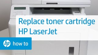 Replacing the Toner Cartridge on HP LaserJet Printers | HP LaserJet | HP