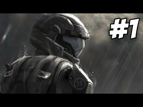 Halo 3 ODST Walkthrough | Prepare To Drop / Mombasa Streets | Part 1 (Xbox 360)