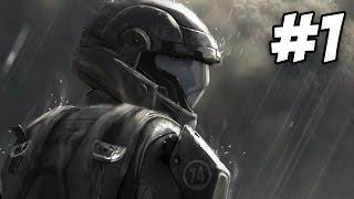 Halo 3 ODST Walkthrough | Prepare To Drop / Mombasa Streets | Part 1 (Xbox 360)