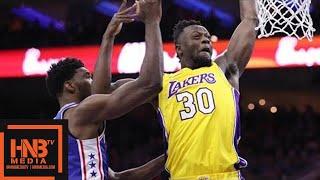 Philadelphia 76ers vs LA Lakers 1st Qtr Highlights / Week 7 / Dec 7
