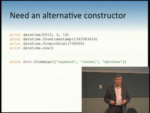 Python's Class Development Toolkit