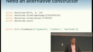 Raymond Hettinger This is a short, but thorough tutorial on the Pyt...