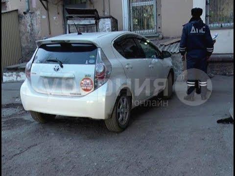 Угнанную «Тойоту» владелец машины и полицейские нашли в Хабаровске. Mestoprotv