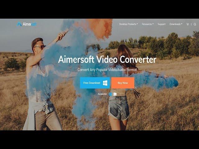 Aimersoft Video Converter! - Promoção de Natal e Ferramentas Essenciais!