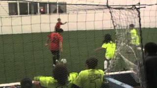 Pueblo United World Indoor Soccer - Green Extreme U11 - 1st Half - 12-23-10