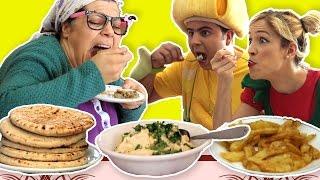فوزي موزي وتوتي – التيتا فوزية عاملة رجيم –Teta Foziya on diet
