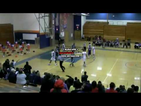 Bloomfield High School Sophmore Phenom Ryan Sutherland Ankle Breaker: (Bloomfield vs Middletown)